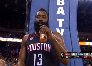 Wake-Up: Rockets pokonali Warriors po 2 dogrywkach. Spacerek Clippers w Cleveland