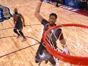 Wake-Up: Anthony Davis miał 52 punkty i został MVP ASG. Cousins dołączy do niego w Pelicans