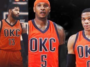 Flesz: Carmelo dołączył do Westbrooka i George'a w Oklahomie