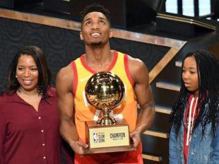 Wake-Up: Mitchell wygrał Konkurs Wsadów, Booker nowym królem trójek